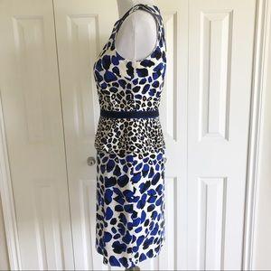 6d91ca737d David Meister Dresses - NWOT✨ DAVID MEISTER Animal Print Peplum Dress 6